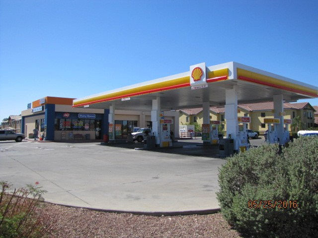 Shell with DQ Franchise
