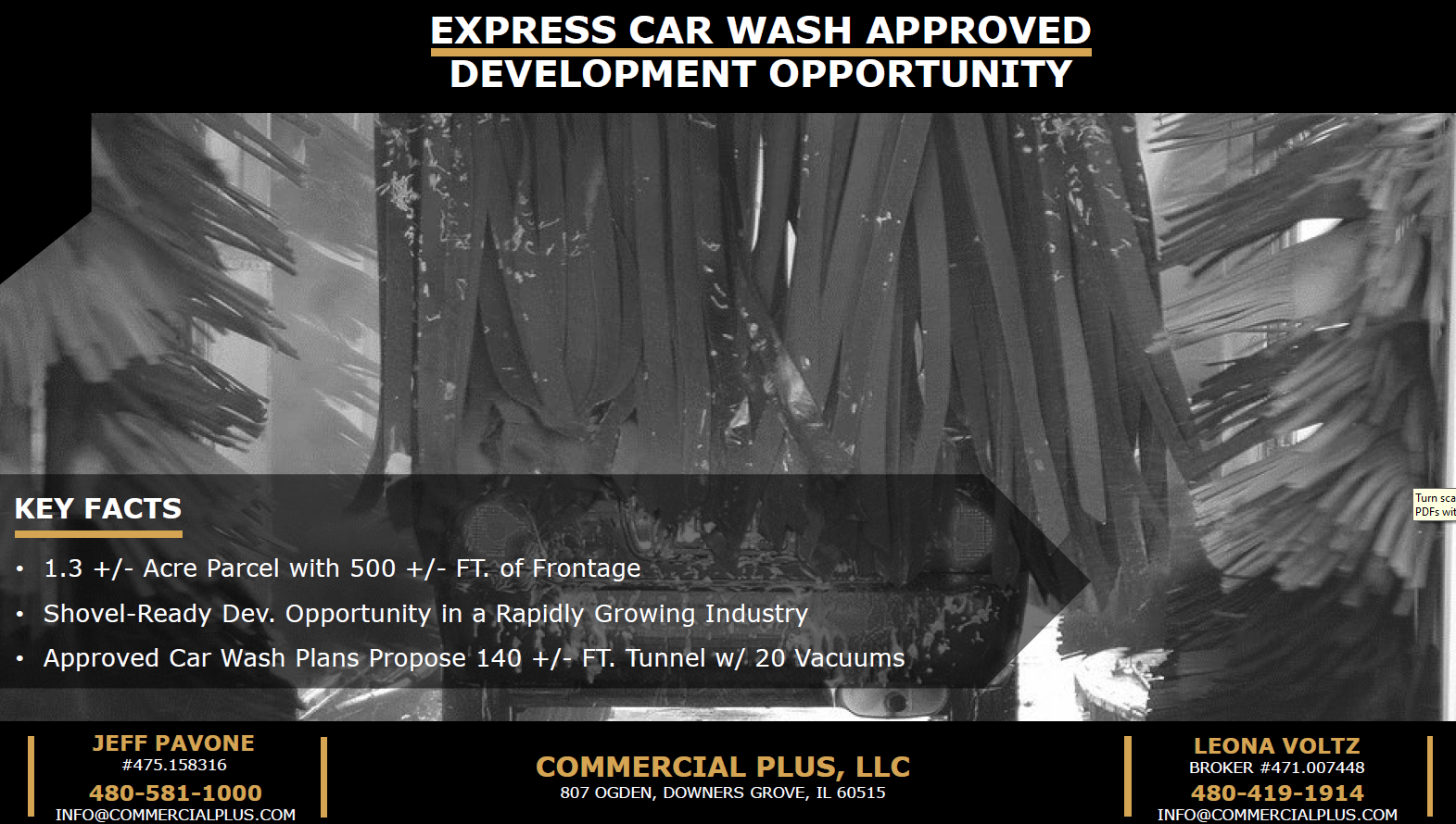 Site Approved for Car Wash